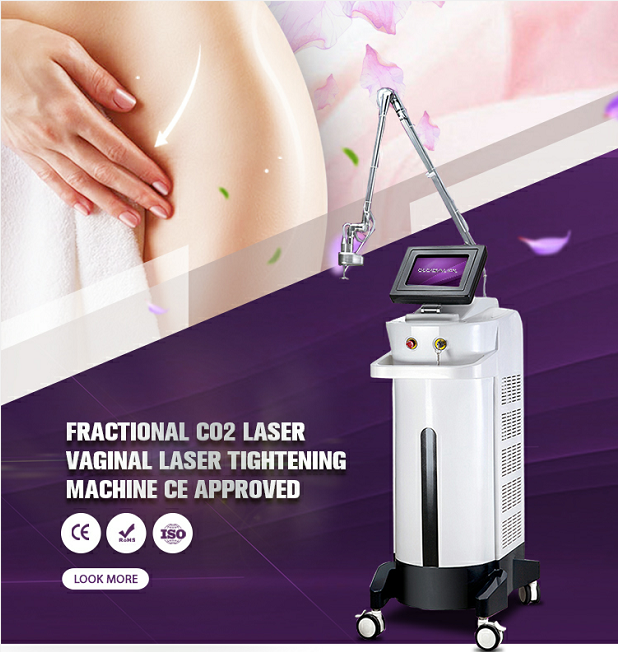 Fractional CO2 Fractional Laser Vaginal Tightening Acne Scar Removal Machine