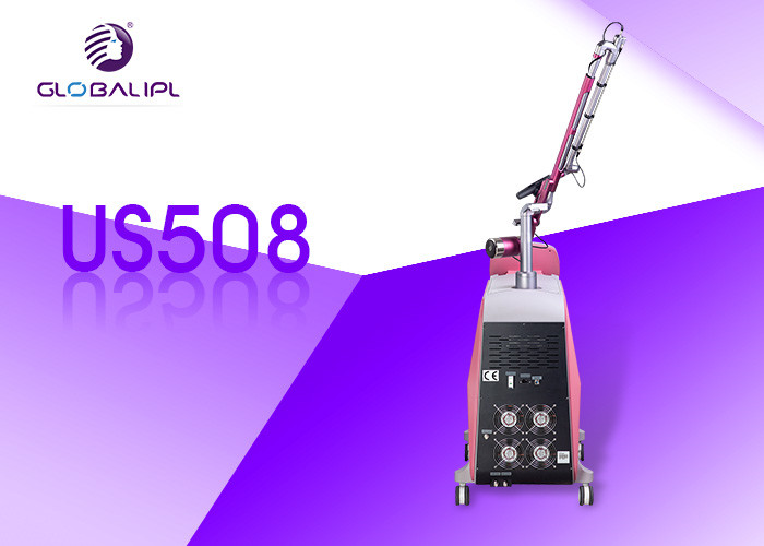1064 / 532nm Q Switch Nd Yag Laser Tattoo Removal Machine Portable Style