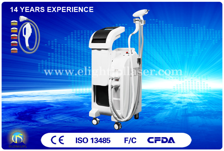 Multifunction ND YAG Bipolar RF Elight IPL Laser Machine for Wrinkle Removal