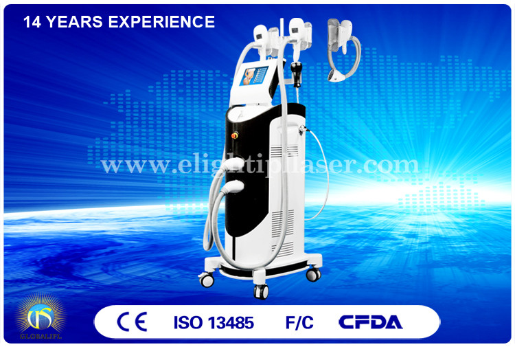 Cold Laser 2 in 1 Body Shaping Cryolipolysis Machine Cavitation Body Slimming System US08A